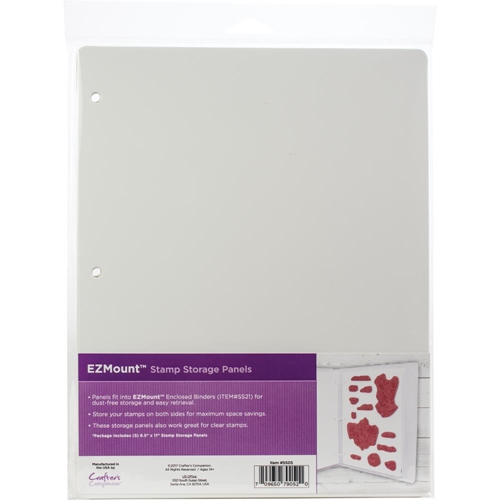 Crafter's Companion EZ MOUNT STORAGE PANELS Stamp Lightweight SS05 Preview Image