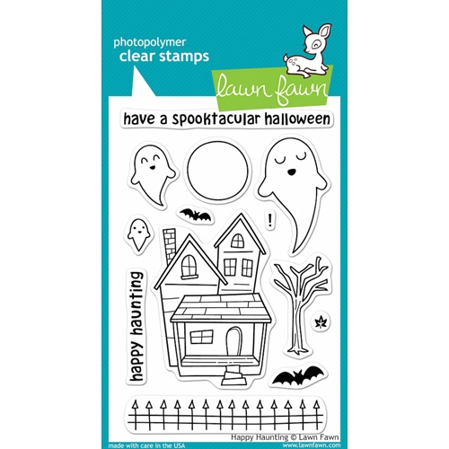Lawn Fawn HAPPY HAUNTING Clear Stamps Preview Image
