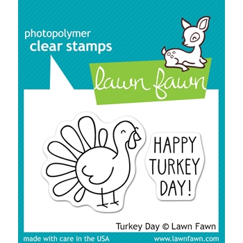 Lawn Fawn TURKEY DAY Clear Stamps