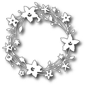 Memory Box CATALINA WREATH Craft Die 98189 Preview Image
