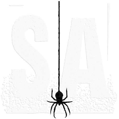 Tim Holtz Rubber Stamp SPIDER SILHOUETTE K4-1751 Preview Image