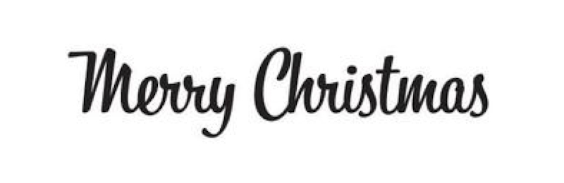 Tim Holtz Rubber Stamp RETRO MERRY CHRISTMAS K4-1766  zoom image