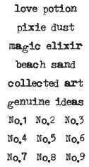 Tim Holtz Rubber Stamp LITTLE WORDS J2-1779 Preview Image