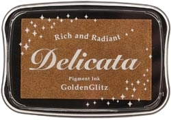 Tsukineko GOLDEN GLITZ Delicata Ink Pad DE-000-191 Preview Image