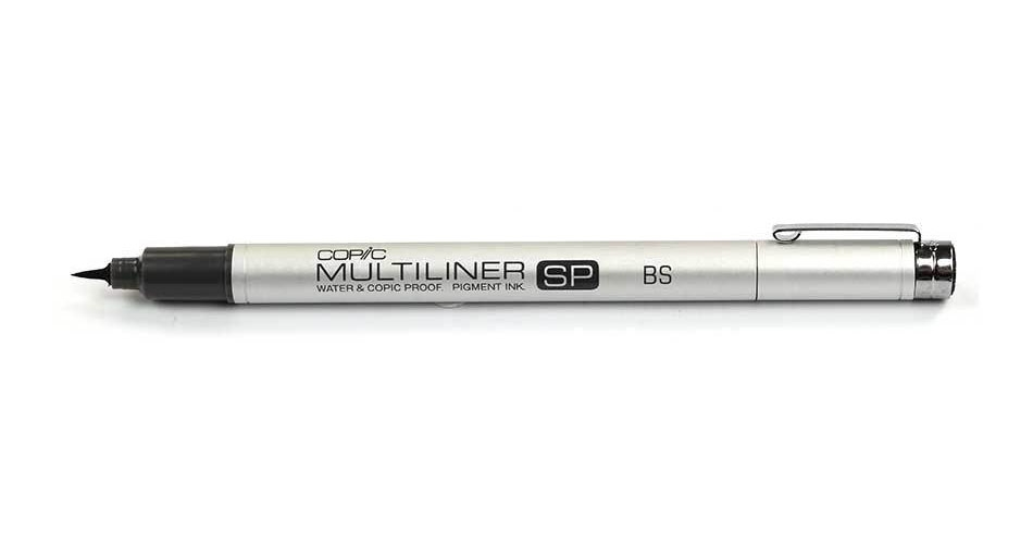 Copic Multiliner SP BRUSH SMALL Black Ink Marker zoom image