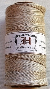 Hemptique THICK NATURAL Hemp Cord Twine 029263