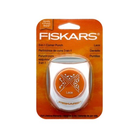 Fiskars LACE Punch 3 in 1 Corner 06226 Preview Image