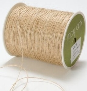 May Arts NATURAL Twine String Burlap
