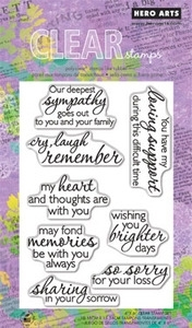 Hero Arts Clear Stamps REMEMBER CL577 Preview Image