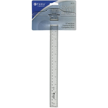 C-Thru T SQUARE RULER Westcott JR12