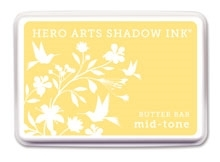 Hero Arts Shadow Ink Pad BUTTER BAR Mid-Tone AF207