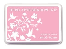 Hero Arts Shadow Ink Pad BUBBLE GUM Mid-Tone AF208