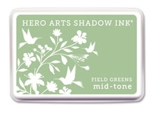 Hero Arts Field Greens Ink Pad