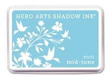 Hero Arts Shadow Ink Pad DEEP END POOL Mid-Tone AF212 Preview Image