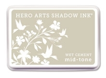 Hero Arts Shadow Ink Pad WET CEMENT Mid-Tone AF213