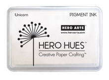 Hero Arts Unicorn White pigment ink