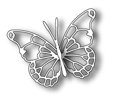 Memory Box VIVIENNE BUTTERFLY Craft Die 98265 Preview Image
