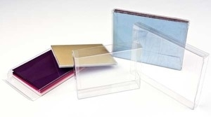 Clear Bags CRYSTAL CLEAR BOX Pack of 3 CBCCCB3 zoom image