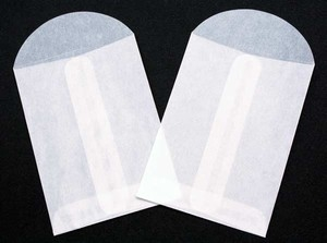 Clear Bags 2.75 x 3.75 GLASSINE ENVELOPES Pack of 10 CB23GLS zoom image