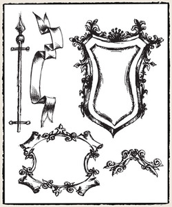 Tim Holtz Cling Rubber Stamps SKETCH cms131 Preview Image