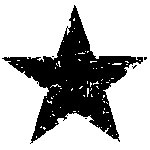 Tim Holtz Rubber Stamp STAR SILHOUETTE Stampers Anonymous D1-1788 Preview Image