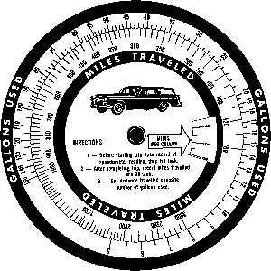 Tim Holtz Rubber Stamp MILEAGE WHEEL Stampers Anonymous P1-1807* Preview Image