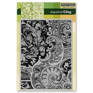 Penny Black Cling Stamp DAMASK PATTERN Rubber Unmounted 40-110 zoom image