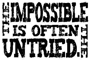 Tim Holtz Rubber Stamp THE IMPOSSIBLE Stampers Anonymous K1-1826* Preview Image
