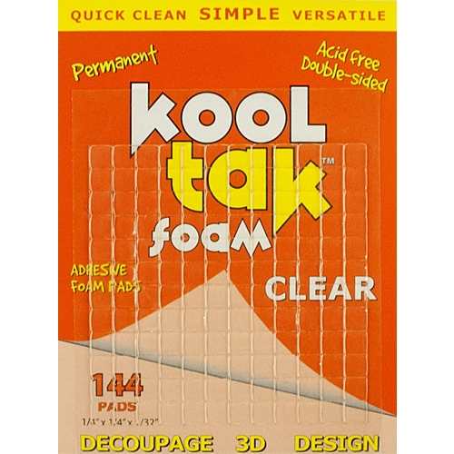 Kool Tak 144 PADS Clear Foam Adhesive Preview Image