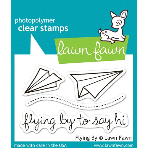 Lawn Fawn FLYING BY Clear Stamps LF386 Preview Image