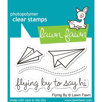 Lawn Fawn FLYING BY Clear Stamps LF386