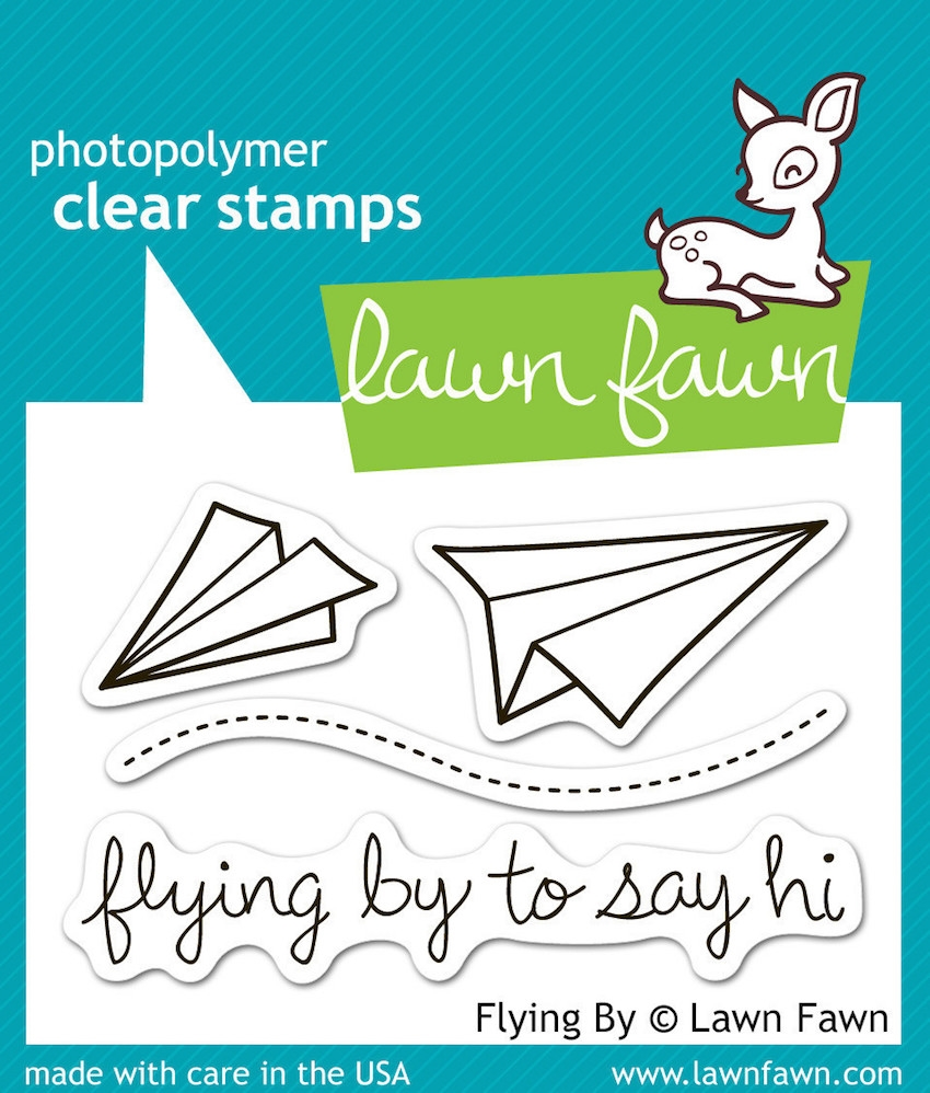 Lawn Fawn FLYING BY Clear Stamps LF386 zoom image