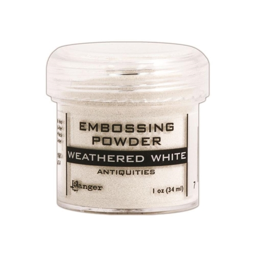 Ranger WEATHERED WHITE Antiquities Embossing Powder EPJ37538 Preview Image