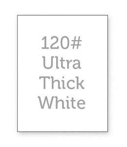 Simon Says Stamp WHITE CARDSTOCK 120 LB Base Weight 12 Pack 120WCBW
