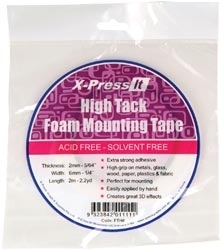 Copic X-Press It Double Sided FOAM 0.25 Inch TAPE High Tack FTH6 Preview Image